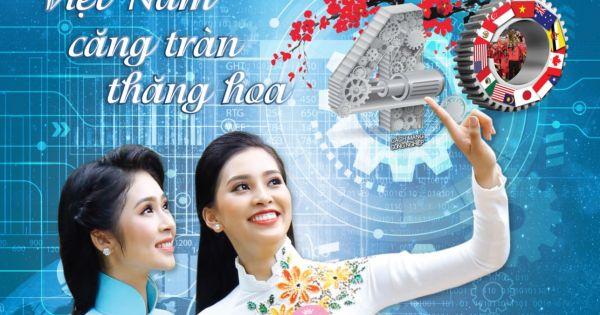 """Báo Pháp Luật Việt Nam: Ấn phẩm đặc biệt ngày xuân """" Việt Nam căng tràn thăng hoa"""""""