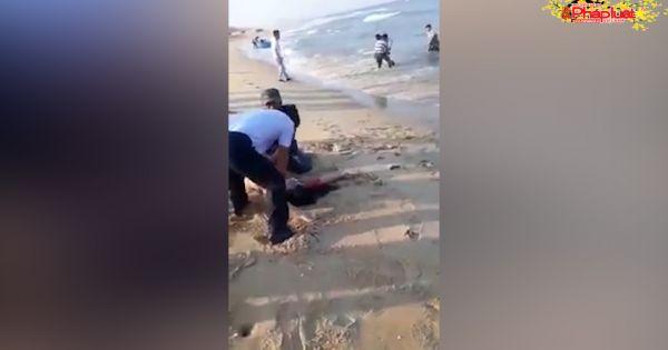 Quảng Nam: 7 học sinh bị đuối nước khi đang tắm biển ngày Tết