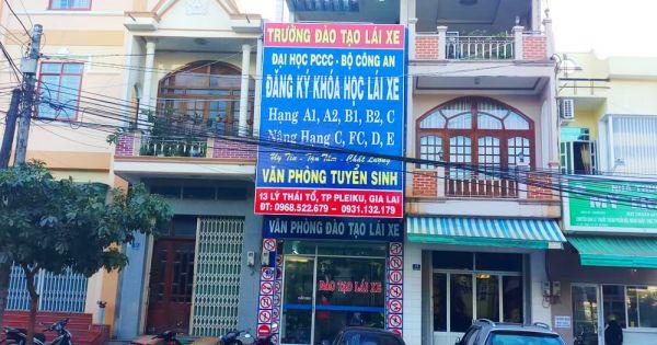 Gia Lai: Kỷ luật Phó Giám đốc tự ý quyết định đào tạo lái xe chui