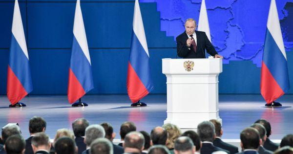 Tổng thống Nga Putin đọc thông điệp liên bang lần thứ 15