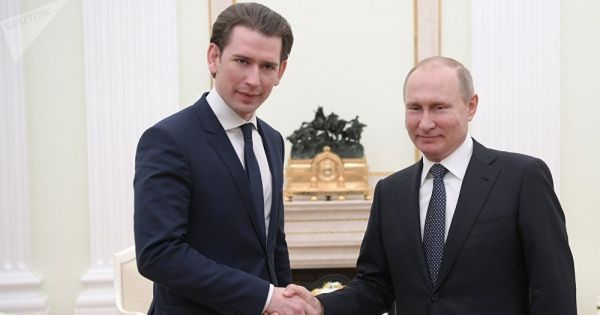 Thủ tướng Áo ủng hộ dự án tuyến khí đốt Dòng chảy Phương Bắc 2 của Nga