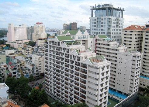 Giá thuê căn hộ dịch vụ ở Sài Gòn gần 40 USD mỗi m2