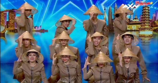 """Nhóm nhảy Việt Nam mang nón lá và áo bà ba 'gây sốt' tại """"Asia's Got Talent 2019"""""""