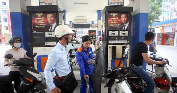 Xả quỹ ở mức cao, giá xăng dầu vẫn phải tăng gần 950 đồng/lít