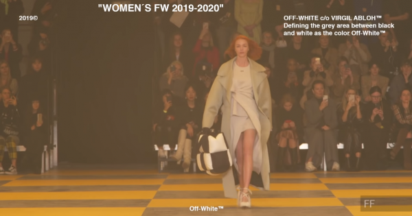 Off-White Fall Winter 2019/2020 Full Fashion Show Exclusive