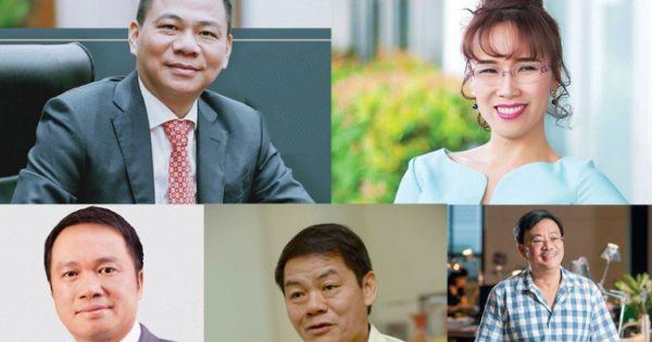 Việt Nam có 5 tỷ phú trong danh sách của Forbes