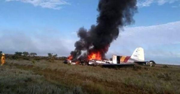 Rơi máy bay ở Colombia, 14 người thiệt mạng
