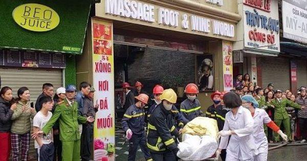 Một người chết trong vụ cháy khách sạn ở Hải Phòng