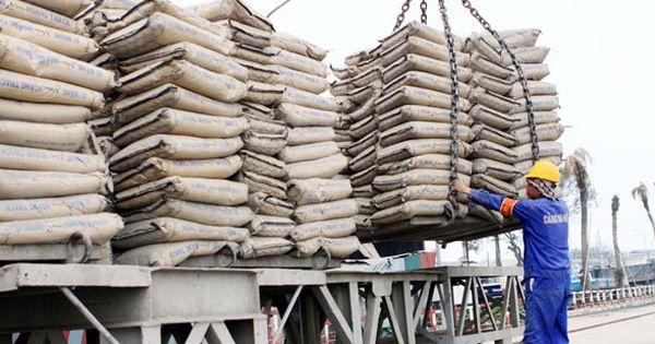 1.500 tấn xi măng trong nhà máy Hoàng Mai mang nhãn Zebra
