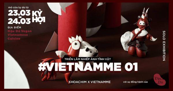 #Vietnamme 01:Triển lãm ảnh áp dụng công nghệ quét mã QR tại Việt Nam