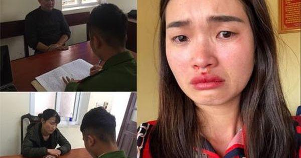 """Khởi tố vợ chồng tài xế xe """"dù"""" đánh chảy máu mũi hành khách ở Hà Tĩnh"""