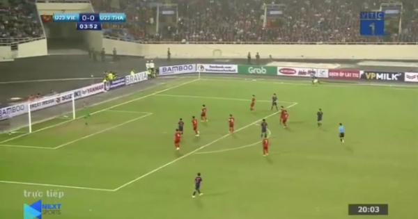 Video tổng hợp: U23 Việt Nam thắng U23 Thái Lan 4-0 (vòng loại U23 châu Á 2020)