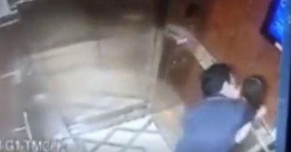 """Phẫn nộ gã đàn ông """"sàm sỡ"""" bé gái trong thang máy ở Sài Gòn"""