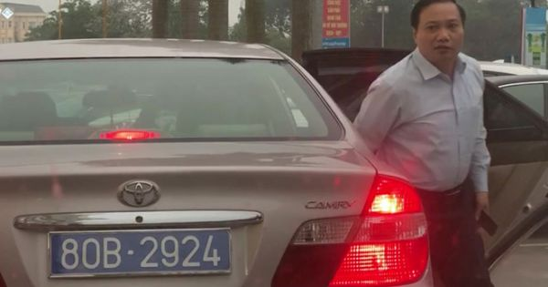 Phó bí thư thường trực tỉnh Ninh Bình sử dụng ô tô biển 80B bất thường