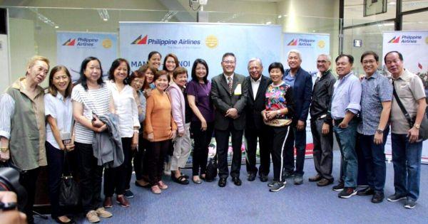 Đường bay thẳng Manila – Hà Nội chính thức đi vào hoạt động