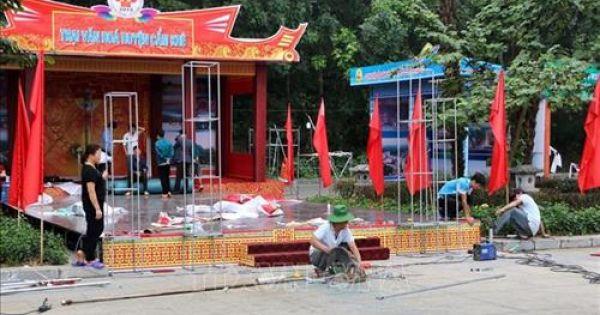 Phú Thọ sẵn sàng cho chuẩn bị Giỗ Tổ Hùng Vương - Lễ hội Đền Hùng 2019