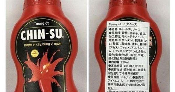Vụ Chin-su bị Nhật Bản thu hồi: Hội Bảo vệ người tiêu dùng nói gì?