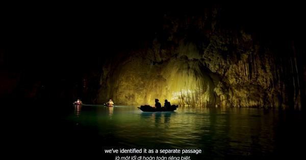 Công bố video về hệ thống sông ngầm dưới hang Sơn Đoòng