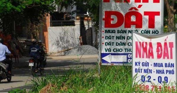 Ngân hàng Nhà nước lệnh kiểm soát tín dụng tại các vùng sốt đất