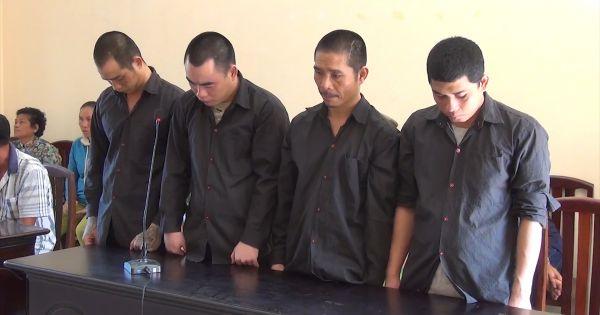 Kiên Giang: 30 năm tù cho 4 con nghiện mua bán ma túy