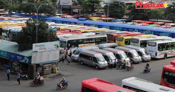 TP HCM: Bến xe, hãng xe thông báo kế hoạch tăng giá vé