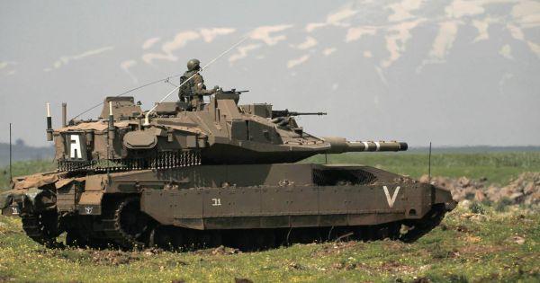 Xe tăng Israel xâm phạm khu phi quân sự, quân đội Syria nâng cao cảnh giác