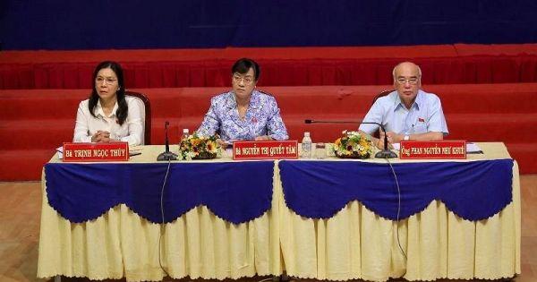 Cử tri quận 2 tiếp tục nêu ý kiến về dự án Thủ Thiêm