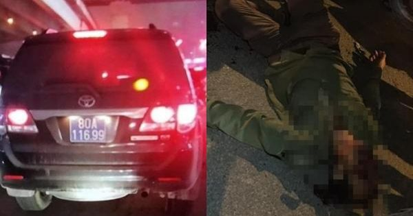 Xe biển số xanh gây tai nạn tại đường Nguyễn Xiển là của Cục Cảnh sát kinh tế