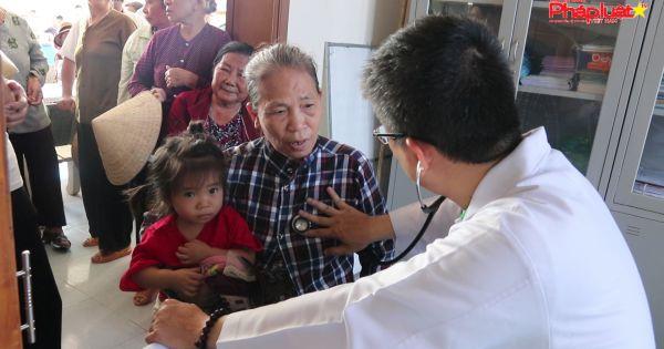 Khám, tầm soát tim mạch cho hàng trăm hộ khó khăn tại tỉnh Đồng Nai