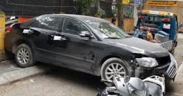 Hà Nội: Tài xế xe Camry lùi xe gây tử vong là đại tá Công an