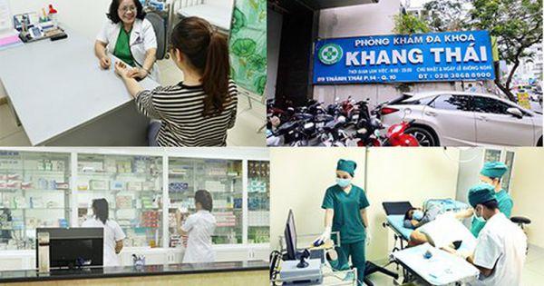 Phòng khám Đa khoa Khang Thái bị Sở Y tế TPHCM phạt 270 triệu đồng