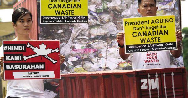 Canada, Philippines căng thẳng ngoại giao vì vấn đề rác thải