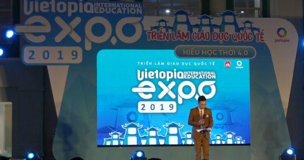 """Trải nghiệm """"Hiếu học thời 4.0"""" qua Tuần lễ Giáo dục Quốc tế Vietopia 2019"""