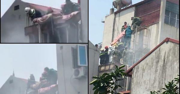 Công an Hà Nội: Khẩn trương điều tra vụ cháy quán cà phê khiến 2 người thiệt mạng