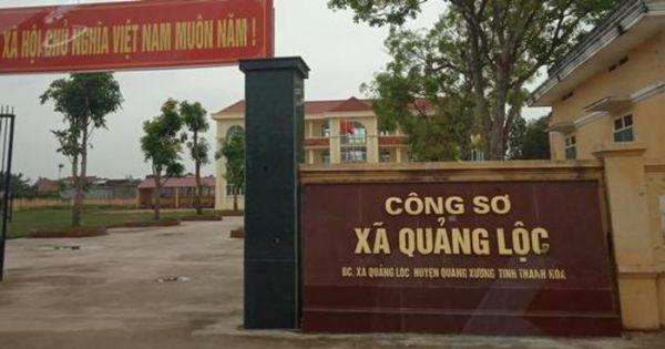 Thanh Hóa: Đình chỉ sinh hoạt đối với Chủ tịch xã liên quan đến vụ lập hồ sơ khống chiếm đoạt 800 triệu