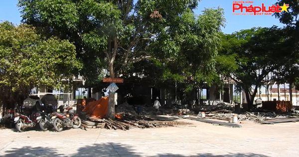 Gia Lai: thi công ẩu công trình trường học