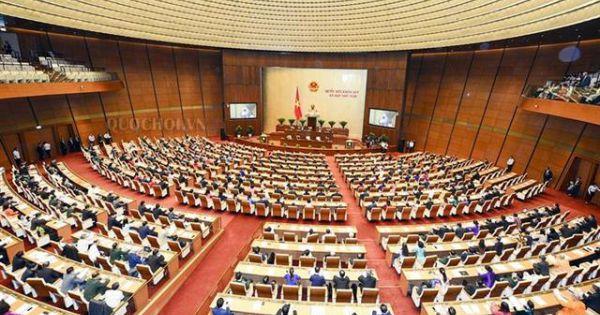 Khai mạc trọng thể kỳ họp thứ bảy, Quốc hội khóa XIV