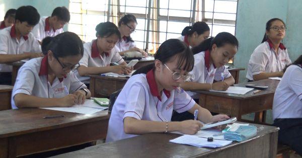 Gần 20 trường ĐH trên địa bàn TP HCM về địa phương chấm thi trắc nghiệm