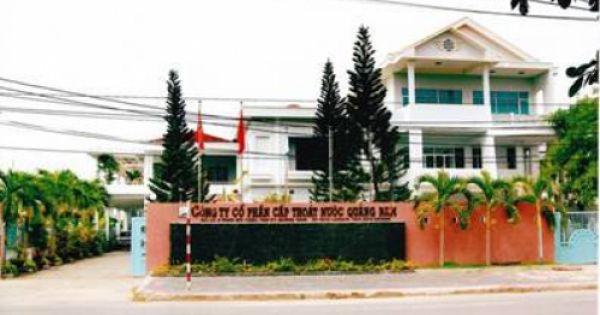 Công ty cấp thoát nước Quảng Nam dính đến nhiều sai phạm đất đai