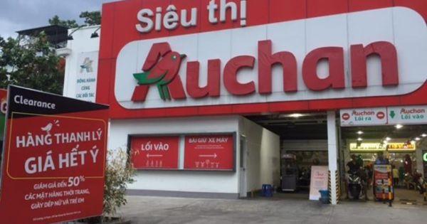 Từ ngày 3/6 Auchan đóng cửa 15 siêu thị ở Việt Nam