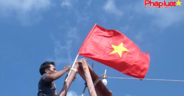 """""""Chung tay xóa nghèo pháp luật về biên giới, biển đảo 2019"""" tại Kiên Giang - Hành trình của yêu thương trọn vẹn"""