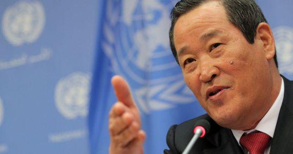 Đại sứ Triều Tiên tại LHQ họp báo bất thường