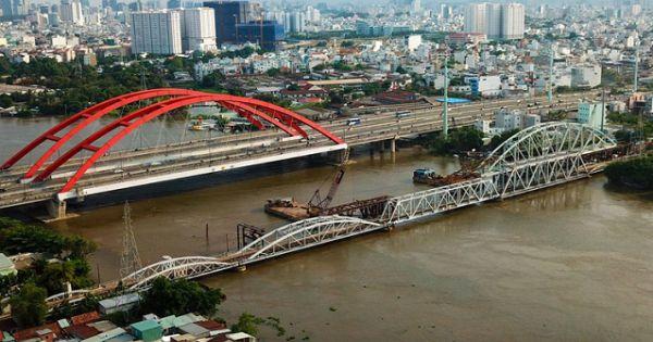TPHCM: Đề nghị bảo tồn Cầu đường sắt gần 120 tuổi