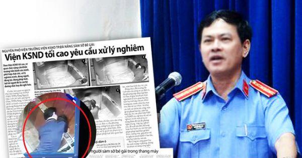 Vụ Nguyễn Hữu Linh dâm ô trẻ em trong thang máy: Đề xuất làm án lệ