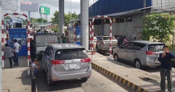 Bộ Giao thông Vận tải chỉ đạo tạm dừng thu phí trạm T2