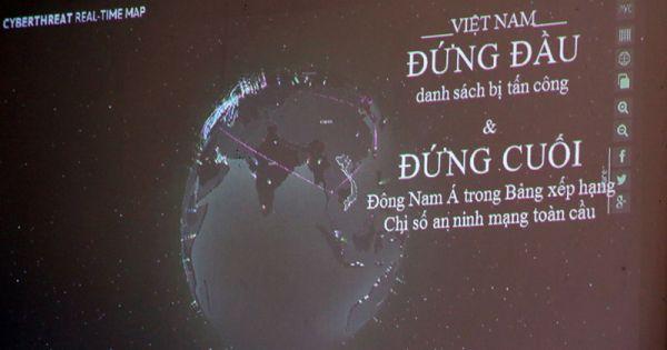 Việt Nam là nước bị tấn công mạng nhiều nhất Đông Nam Á