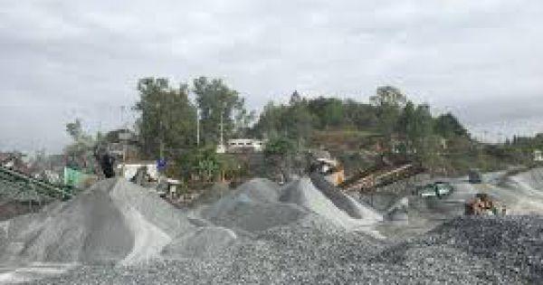 Bình Dương: Doanh nghiệp bị phạt 155 triệu đồng vì khai thác đá gây ô nhiễm