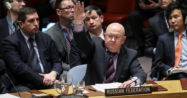 Nga bác tuyên bố của Hội đồng Bảo an LHQ về Syria