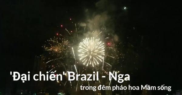 Nhìn lại những màn pháo hoa mãn nhãn của Brazil và Bỉ