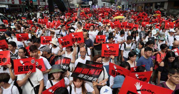 Anh, Mỹ đồng loạt thể hiện sự quan ngại về dự luật dẫn độ Hong Kong